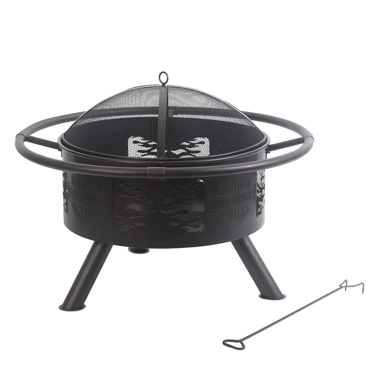 Harley-Davidson Bar & Shield Fire Pit HDL-10066