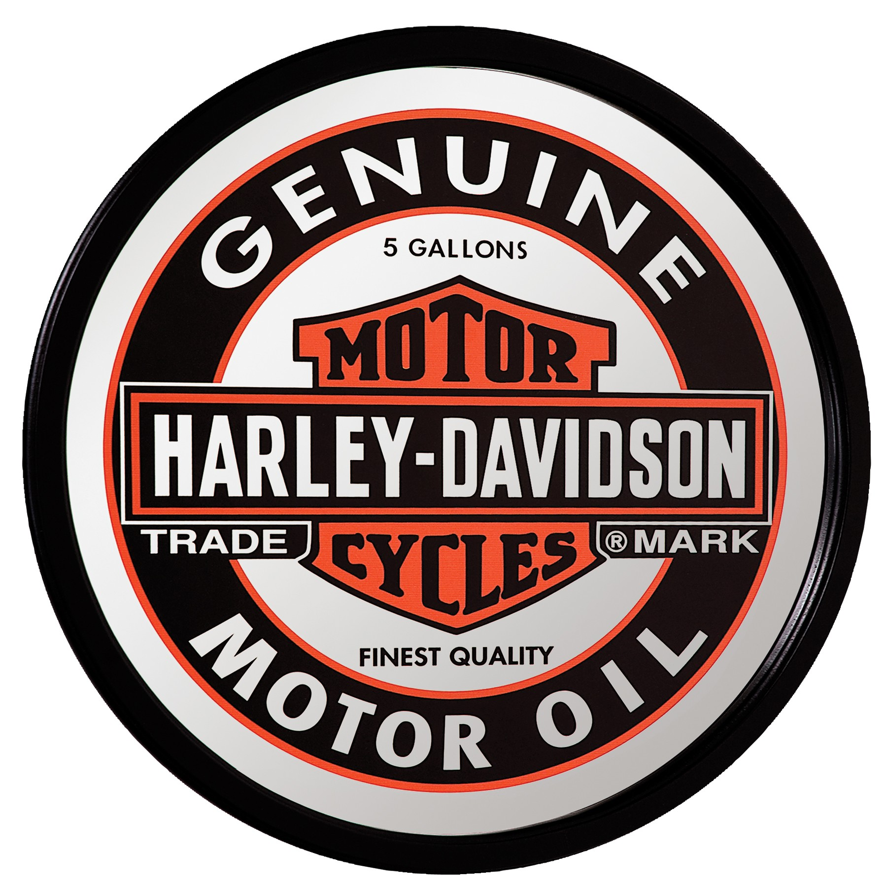Harley-Davidson Oil Can Mirror HDL-15216
